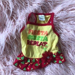 Fiesta Siesta Repeat Dog Dress